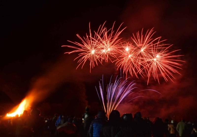 Bonfire Night in Oswestry