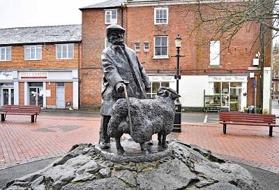 Farmer Statue Oswestry