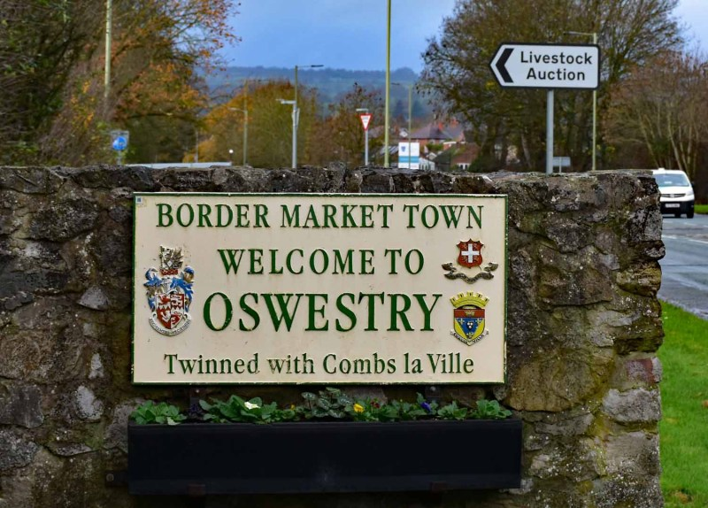 Welcome to Oswestry Market Town