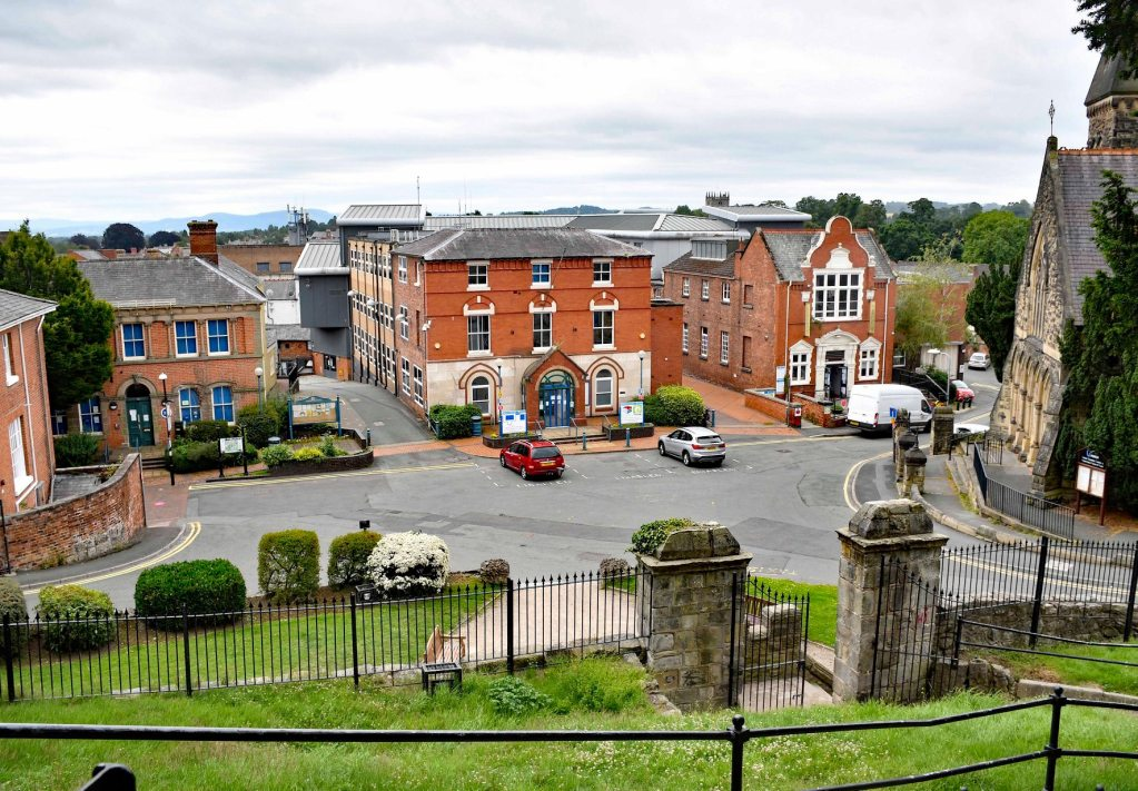 Oswestry Tourist Information Centre Castle View