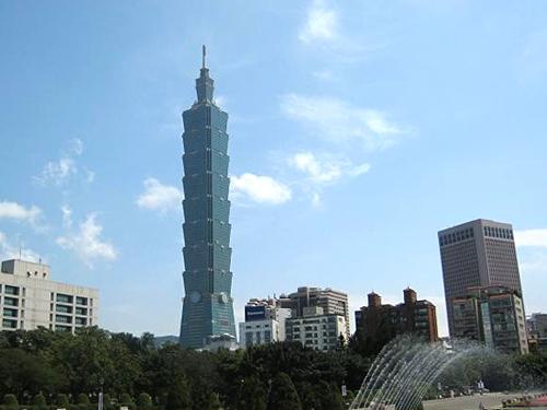 Taipei 101 Building Taipei Taiwan China