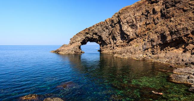 Arco dellElefante  Visit Pantelleria