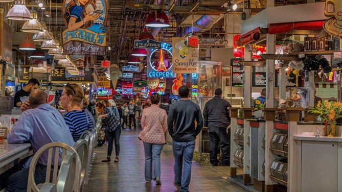 Image result for reading terminal market