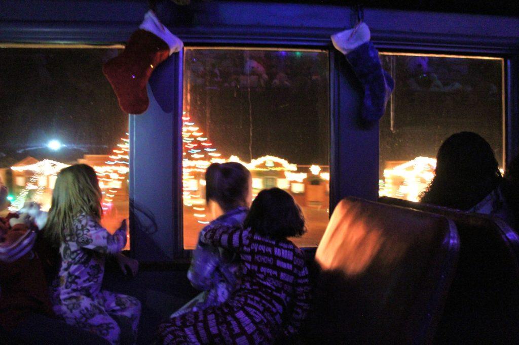 Polar Express Train Ride Reno Tahoe Blog