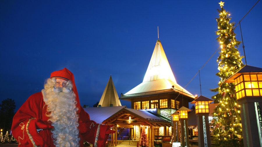 Christmas Village Lights