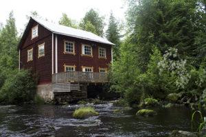 Hernesalmen mylly Saarijärvi