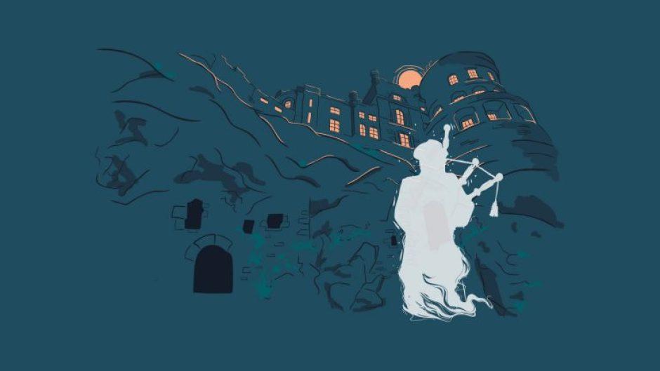 The Ghost Piper of Culzean Castle, Ayrshire