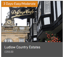 Wheely Wonderful Cycling 3 day Ludlow Country Estates cycle tour