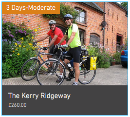 Wheely Wonderful Cycling 3 day Kerry Ridgeway Cycle Tour