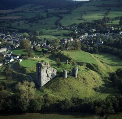 Rural Clun Castle