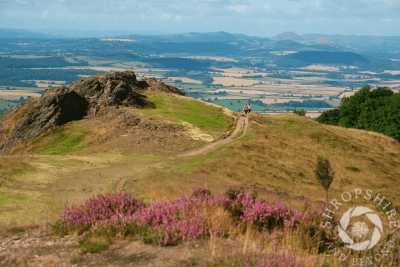 Walkers are Welcome at The Wrekin by Shropshire and Beyond