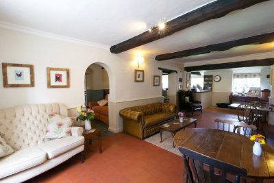The relaxed interior of The Coach House