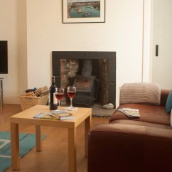 Living Room With Log Burner Beach Furniture Sets Spacious Two Burners Visit South West Scotland Holiday Cottage In