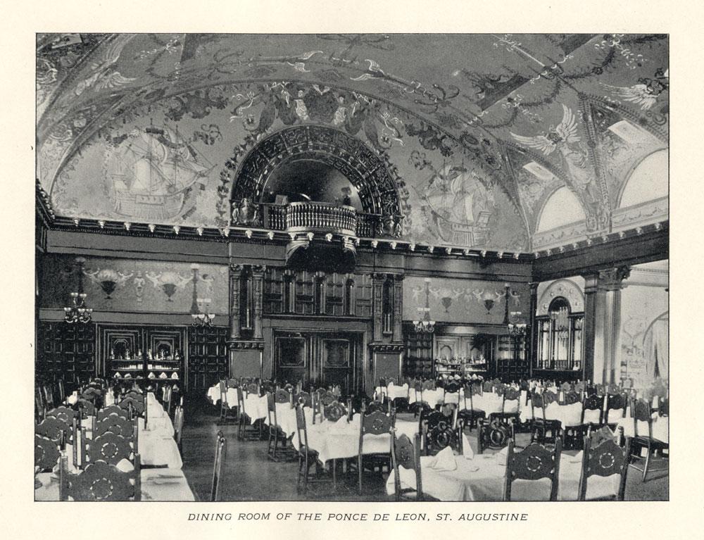 Ponce de Leon Hotel Dining Room  Visit St Augustine