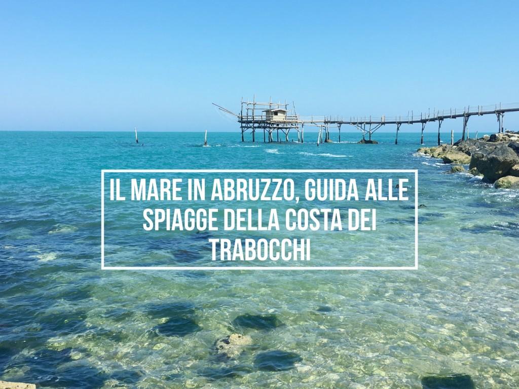 Mare in Abruzzo - trabocchi