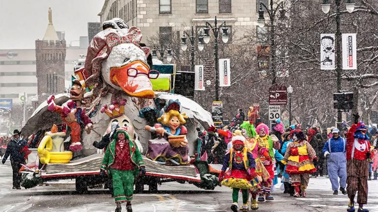 America's Thanksgiving Parade in Detroit.