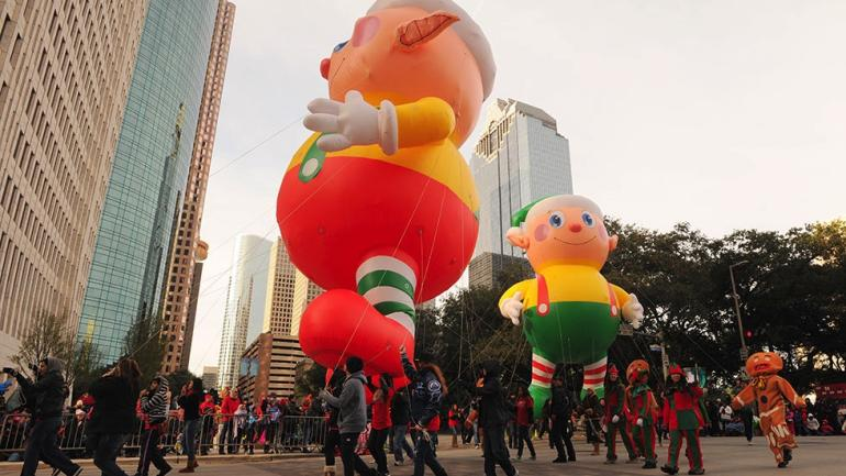 H-E-B Thanksgiving Day Parade in Houston.