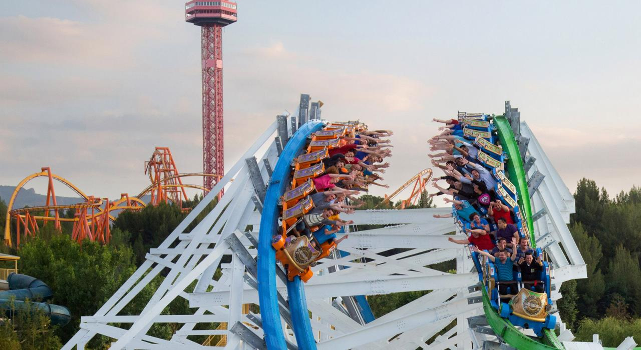 Please review our experience availability list prior to your visit. Six Flags Magic Mountain Roller Coasters And Rides