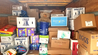 TOC Hurricane Relief donations