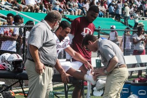 Dr. Greco w/Alabama A&M Univ. Football - TOC Sports Medicine