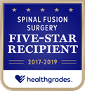 Huntsville Hospital - Healthgrades Spinal Fusion Surgery Five-Star Recipient - 2019