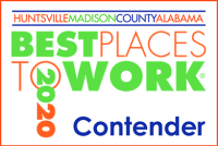 Huntsville/Madison County Alabama Best Places to Work 2020 Contender