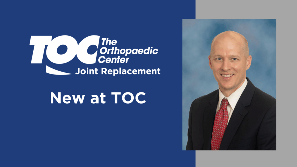 Dr. Brad Wills | Joint Replacement Orthopaedic Surgeon | TOC | Huntsville, Madison, Scottsboro, Fayetteville