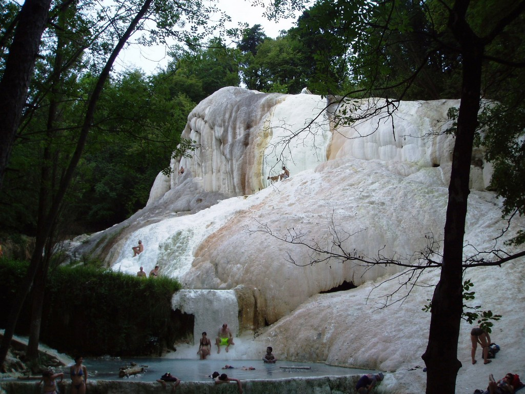 The hot springs of San Filippo  Visit Tuscany