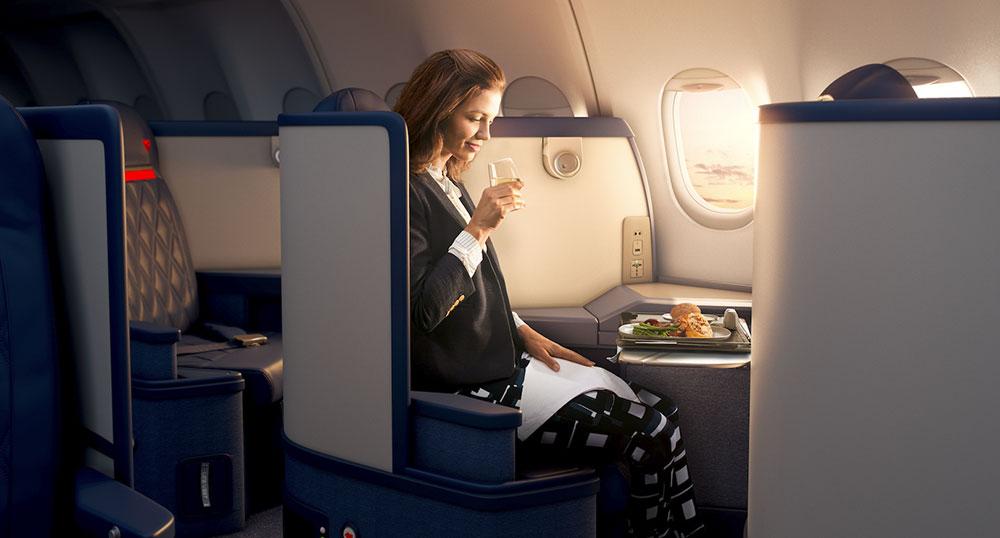 Delta estende il suo popolare programma di pre-selezione pasti a tutti i passeggeri in classe Delta One