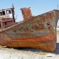 Проржавевший корабль, Муйнак