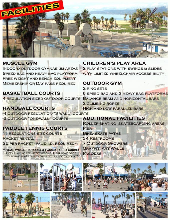 Muscle Beach. Venice Beach Recreation and Parks