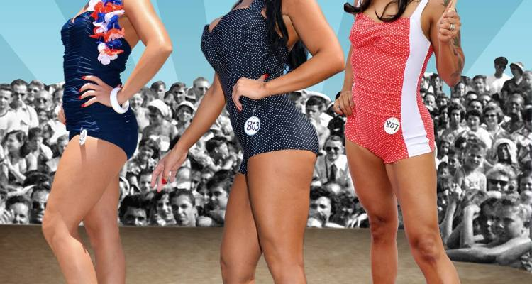 6dce59e1d8 Muscle Beach Vintage Swimsuit Competition