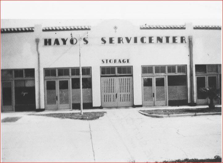 140 W. Tampa Avenue: Originally The orange Blossom Garage