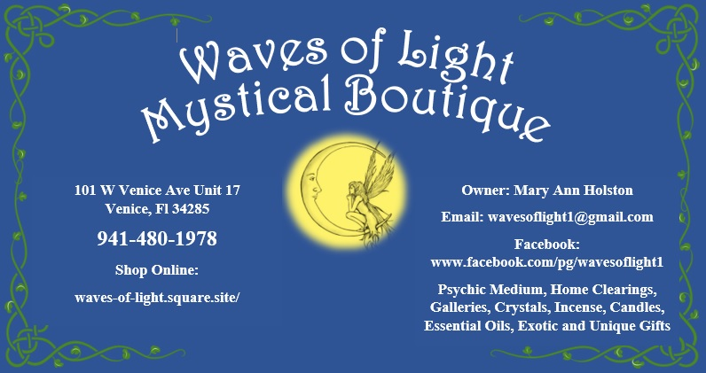 Welcome New Venice MainStreet Partner, Waves of Light