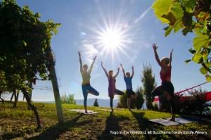 Yoga in the Vineyard West Kelowna