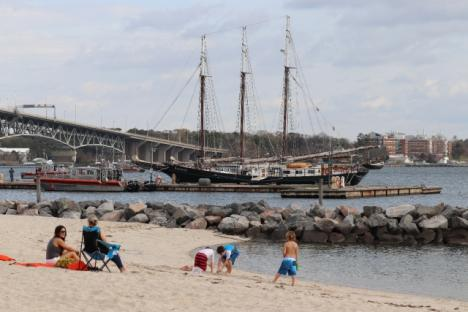 Image result for yorktown beach