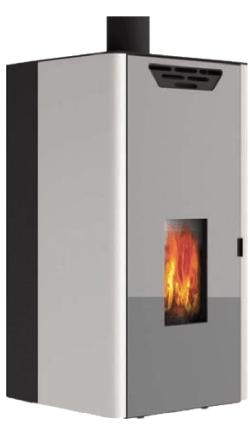 stufa a pellet per riscaldamento domestico