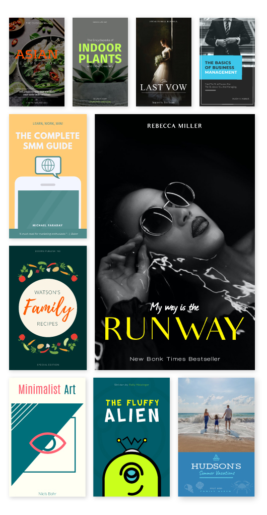 Free Book Cover Maker - Create Book Covers Online | Visme