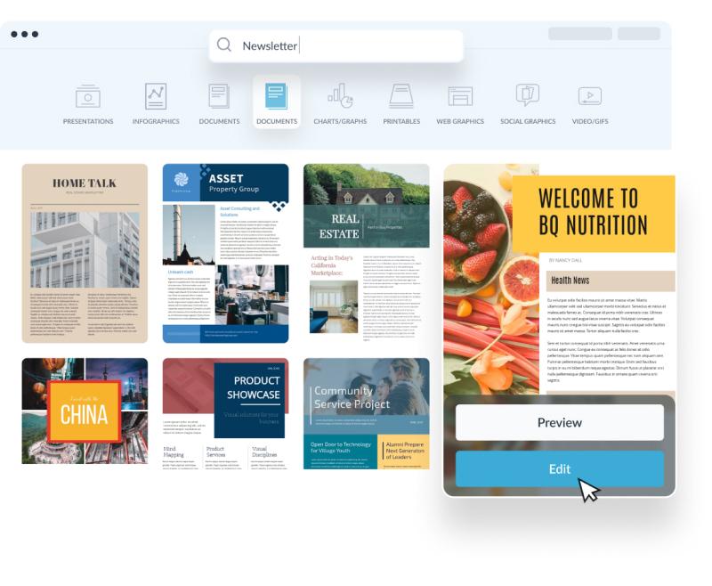 )(n.) (1) something that establishes or serves as a pattern for reference. Free Online Newsletter Maker Create A Newsletter Visme