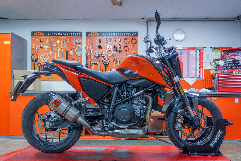 Long-term test update 2: KTM 690 Duke   Visordown