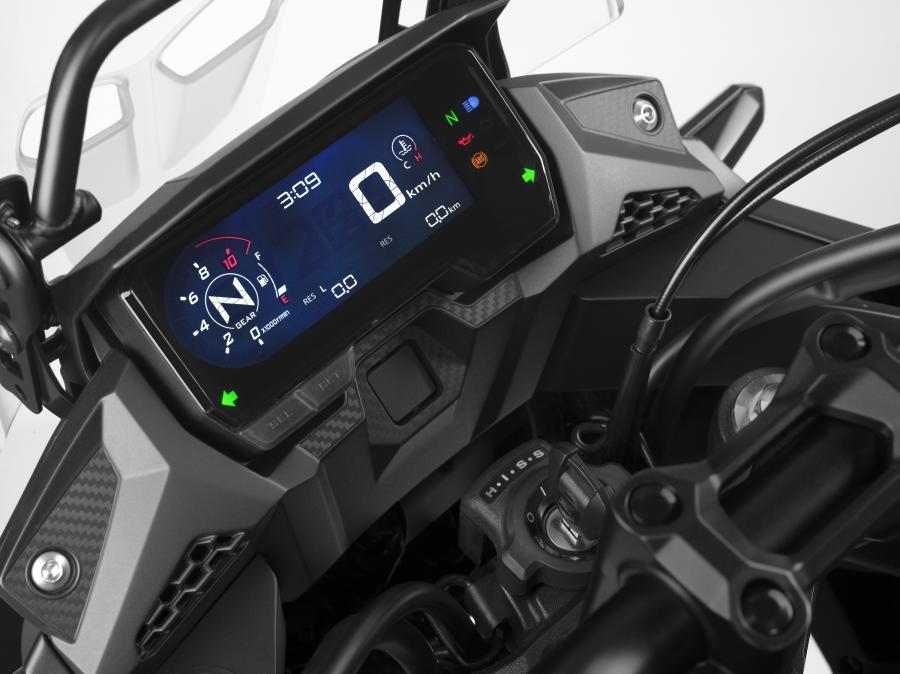 2019 Honda CB500 X dash