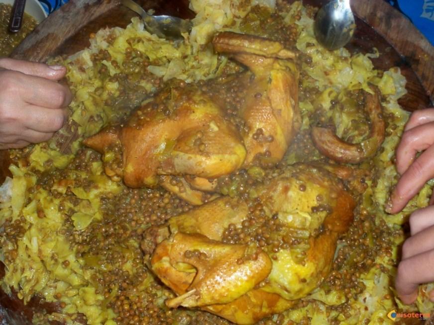 Photo : Rfissa ,un plat marocain