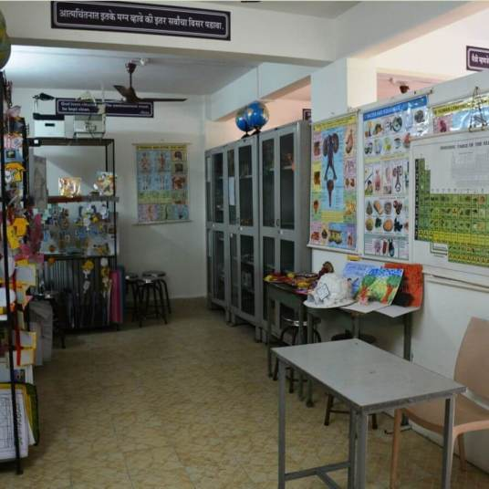 Science Room Front view