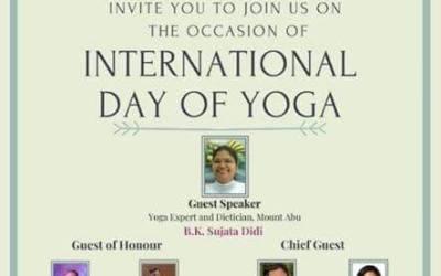 International YOGA Day 2020 Online Programme
