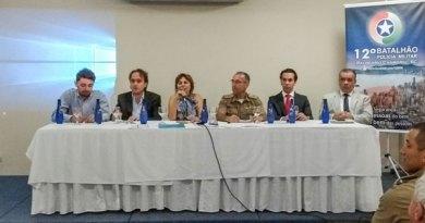 """12º Batalhão promove """"Café com o Comandante'' em Balneário"""