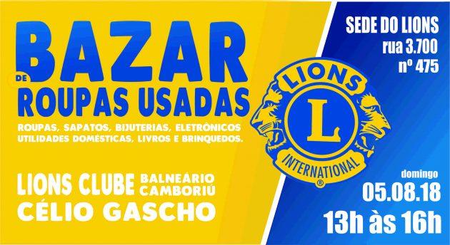 b031fb1576d Bazar beneficente do Lions Célio Gascho será neste domingo (14 ...