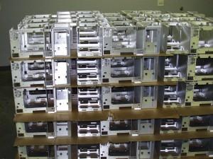 Aluminum sheet metal chassis