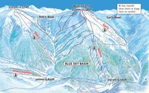 Vail Blue Sky Basin Map