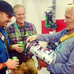 Father, son & pops-in-law shopping sesh at Outdoor Retailer & SIA Snowsports Show for the 2018-19 season.