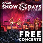 Vail Snow Days - Music 2018 - VBSR